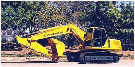 L&T PC200-6 « anugraha construction